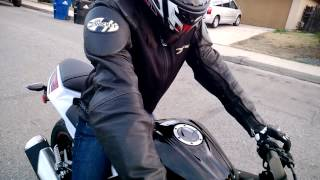 9. 2014 Ninja 300 ABS SE - Learning to ride Part 1/2