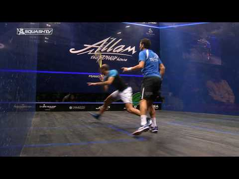 Squash tips: Drops from deeps with Lee Drew - Working the drop & drive together