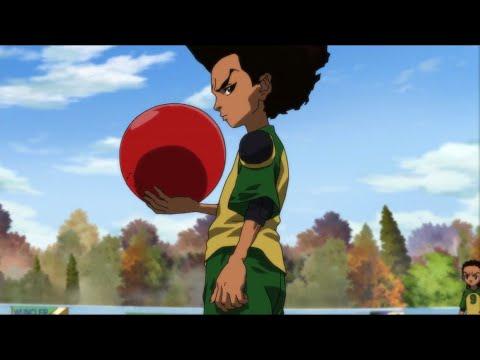 The Boondocks - The Red Ball   S3 E3 FULL EPISODE