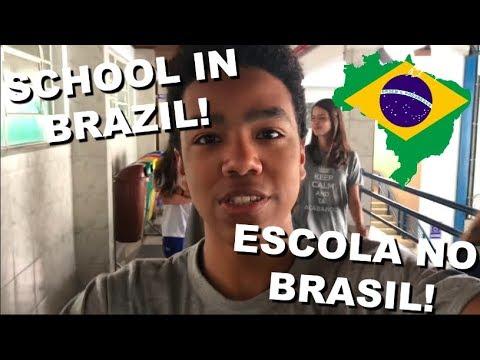 SCHOOL IN BRAZIL | ESCOLA NO BRASIL