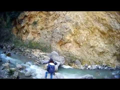 parco dei nebrodi: bellissime immagini delle cascate del catafurco.
