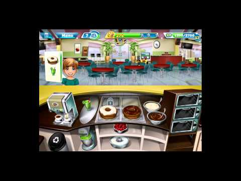 Cooking Fever [iPad Gameplay] Bakery Level 9