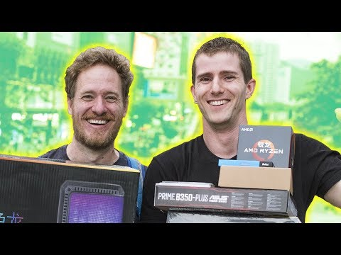 Building a PC CHEAPER in CHINA?! feat. Strange Parts