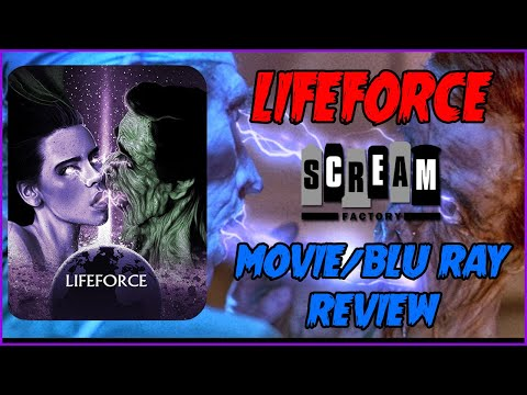 Tobe Hooper's LIFEFORCE | Movie/Blu Ray Review Scream Factory | Christian Hanna Horror