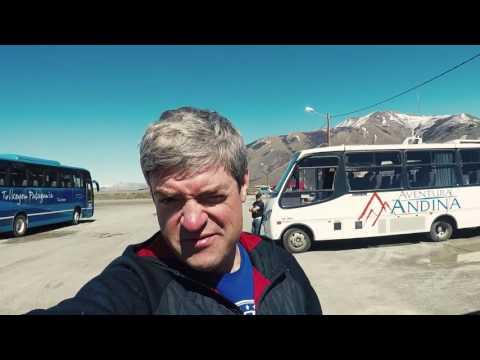 Жюльверновские девушки у ледника в Патагонии (видео)