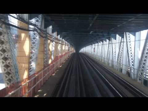 Manhattan Bridge - This is one of a series of videos of the July 31, 2010 Nostalgia Train fan trip to Coney Island, New York, aboard the New York Transit Museum's fleet of vint...