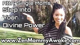 How to Manifest Abundance As A Single Mom? Spiritual Awakening & Ascension (LOA)