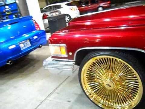 Cadillac On Daytons