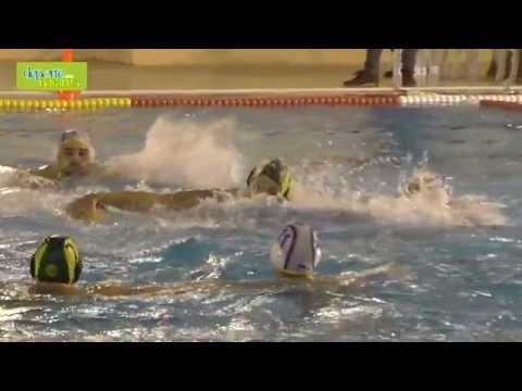 Waterpolo Navarra vs Real Canoe cámara lenta