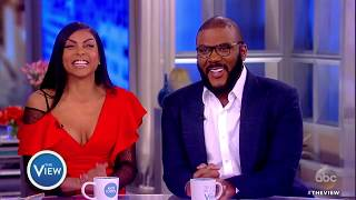 Taraji P. Henson Tyler Perry Talk Bid Battle With Blue Ivy Diversity Acrimony And More  The View