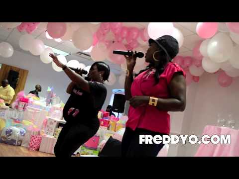 "Xscape   ""Who Can I Run To"" Baby Shower FreddyO.com Exclusive"