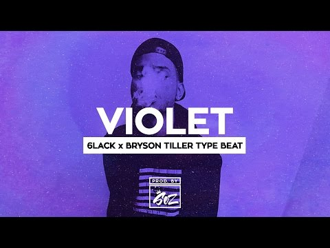 (*New*) 6LACK x Bryson Tiller Type Beat - Violet (Prod. By Sez)
