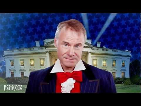 18 Political Impressions by Jim Meskimen - POLITICARDS 2012