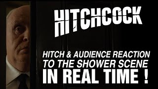Nonton Hitchcock (2012) - Hitch reaction to the shower scene in real time Film Subtitle Indonesia Streaming Movie Download