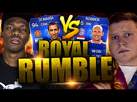 FIFA 15 | NOW IT'S TENSE | ROYAL RUMBLE