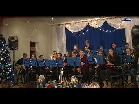 Koncert noworoczny w Kurzelowie.Wystąpił Big Band Włoszczowa