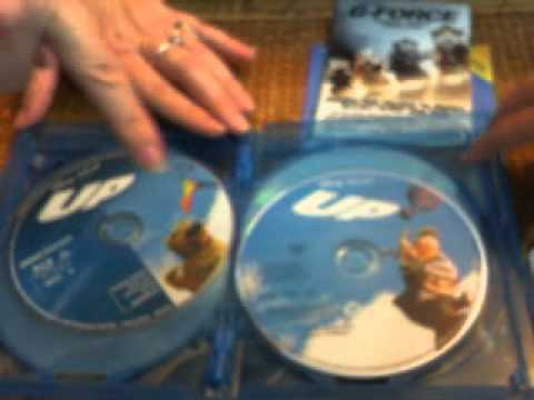 Unboxing Of Up Bluray With Me And Mom 8/11/12