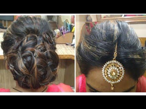Hairstyles for long hair - Maang Tikka Setting Hairstyle For Long Hair 2018