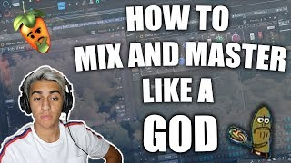 HOW TO MIX AND MASTER LIKE A GOD (TRAP AND HIP-HOP)