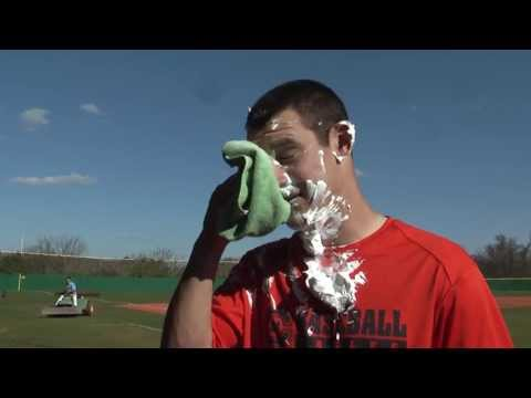 Evan Jurjevic gets pied