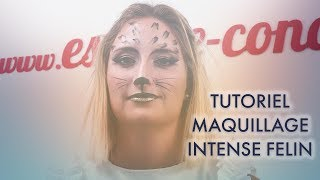 CAP Esthétique Cosmétique Parfumerie : tutoriel maquillage félin