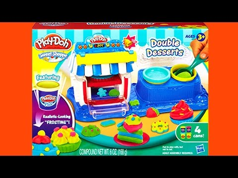 Play-Doh Sweet Shoppe Double Desserts Playset Hasbro Toys