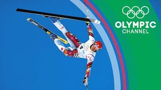 Austrian skier Hermann Maier survives a spectacular crash at the 1998 Olympic Winter Games in Japan and wins a gold medal three days later.Subscribe to the official Olympic channel here: http://bit.ly/1dn6AV5