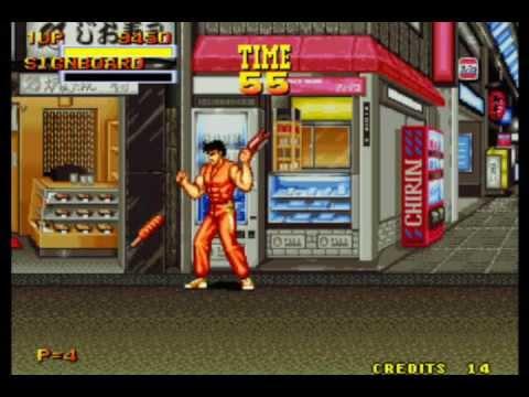 Burning Fight Neo Geo