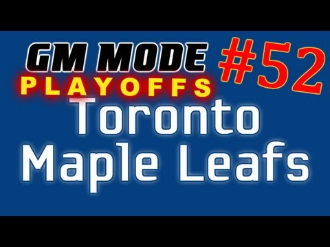 """NHL 12: GM Mode Commentary – Toronto ep. 52 """"Round Two"""""""