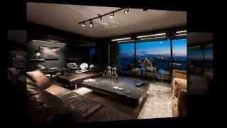 Дизайн интерьера квартиры Skyfall