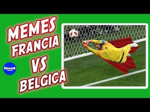 LOS MEJORES MEMES DE FRANCIA VS BÉLGICA