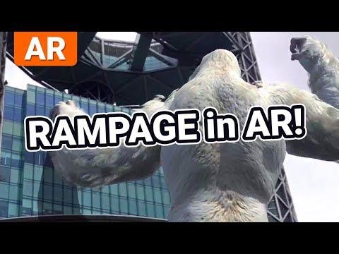 Rampage: AR Unleashed - Rampage 2018 Movie App