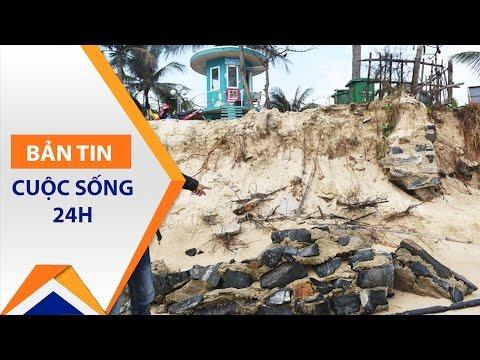 Đà Nẵng: Bãi tắm có nguy cơ bị xóa sổ | VTC - Thời lượng: 3 phút, 19 giây.