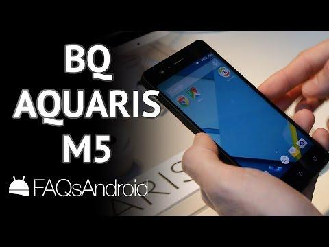 BQ Aquaris M5: Toma de contacto