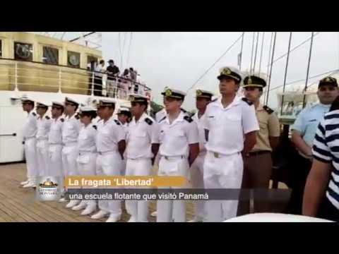 La fragata 'Libertad', una escuela flotante que visitó Panamá