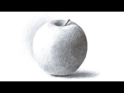 Workshop Zeichnen – Teil 04 – Einen Apfel Zeichnen