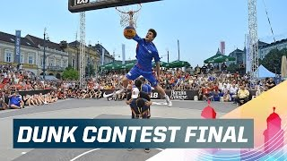Check out the best action from the dunk contest at the 2015 FIBA 3x3 U18 World Championships, as Filipino dunking sensation Kobe Paras comes out on top ...