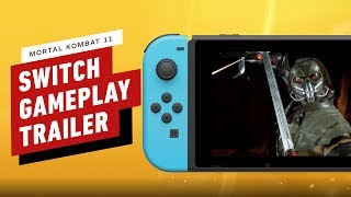 Mortal Kombat 11 Nintendo Switch Gameplay Reveal Trailer by IGN