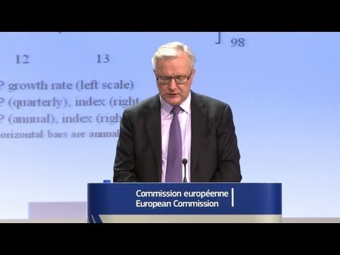 EU sees recession, unemployment through 2013