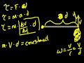 Conservation of Angular Momentum Video Tutorial