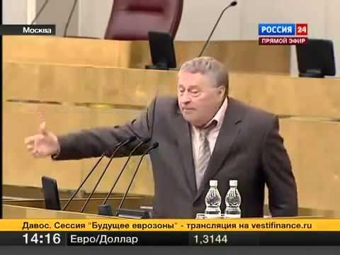Жириновский про итоги выборов 2012 год