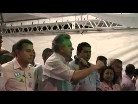 Ronaldo Caiado discursa no Comício do 11 em Campinorte-GO parte 01
