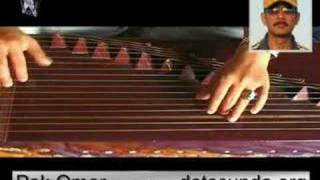 Song jeritna hate (Gangan Garnama) a Sundanese traditional music (indonesia) using the Kacapi instrument. Player Pak Omar.