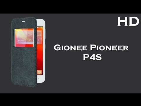 Gionee Pioneer P4S comes with 4.5 Inch Display 1800mAh battery, 1GB RAM, Android 4.4 KitKat