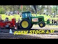 1 DM Brande 2018 Farm Stock 4,5t & Modified 950kg DK Tractor Pulling