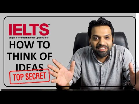 IELTS Writing - How to think of idea?
