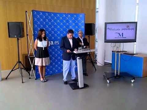 El�as Bendodo presenta los acuerdos de colaboraci�n con el Unicaja Baloncesto