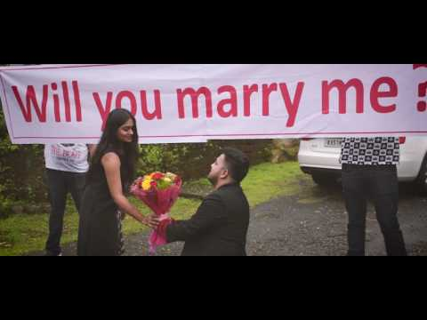 Video 'THE SURPRISE WEDDING PROPOSAL'  - Highlights  | Ashwin & Laxmi | download in MP3, 3GP, MP4, WEBM, AVI, FLV January 2017