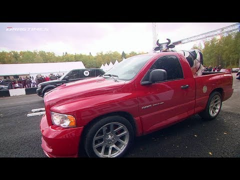 Dodge RAM SRT-10 vs Range Rover Sport and Mercedes ML63 AMG and BMW X6M