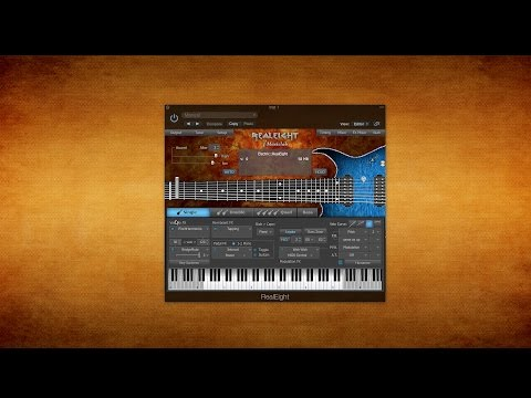 MusicLab RealEight + Amplitube 4 Mesa/Orange